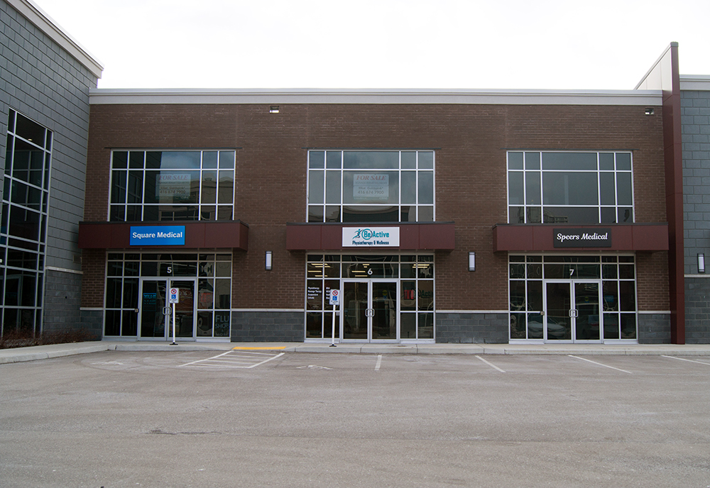 beactive physiotherapy and welllness oakville clinic exterior