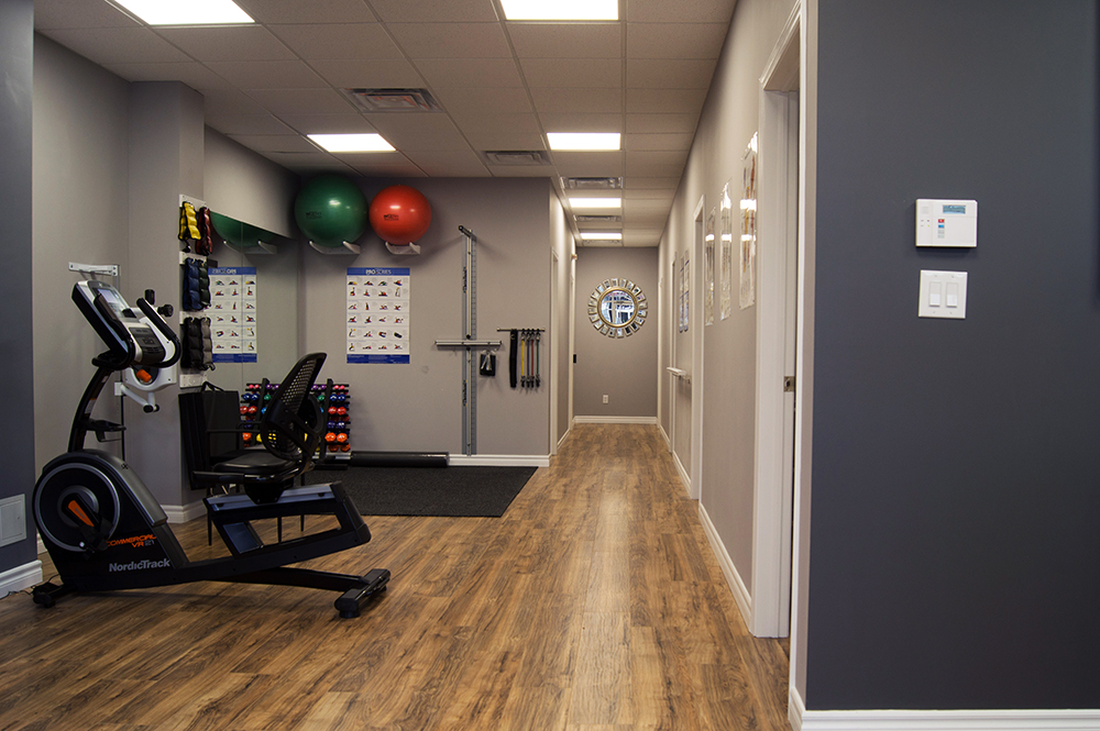 beactive physiotherapy and wellness oakville exercise room 1