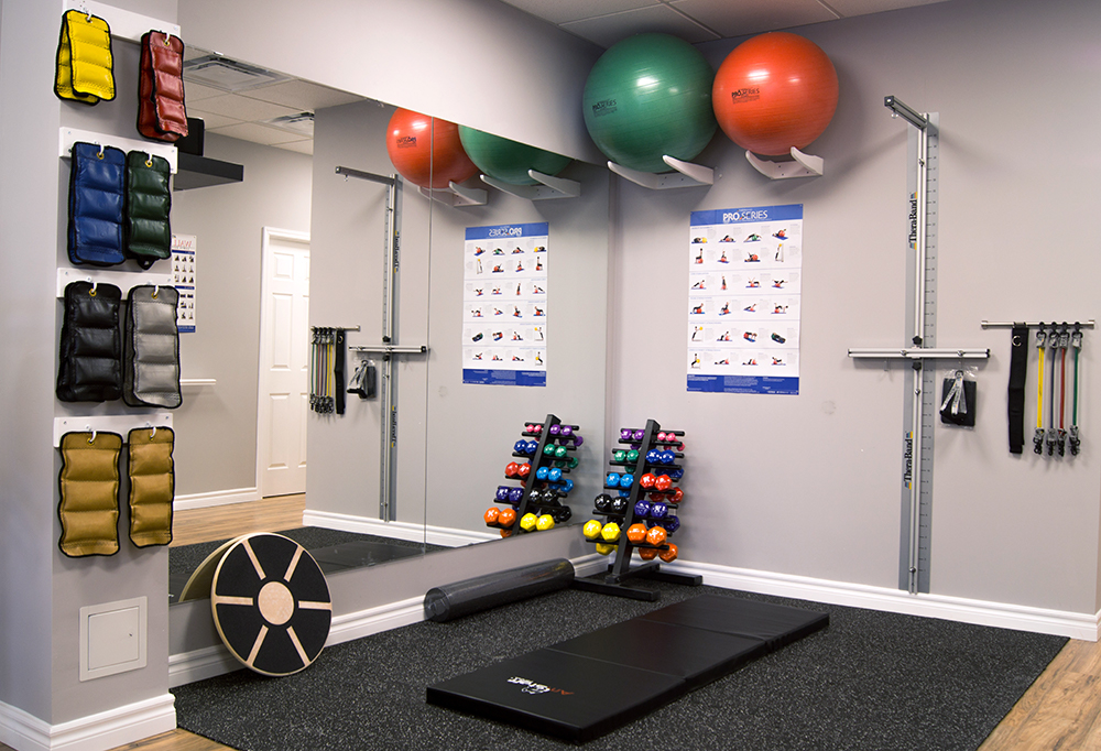 beactive physiotherapy and wellness oakville exercise room 2