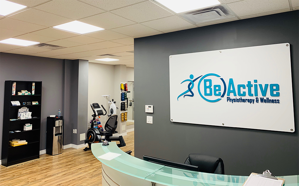 beactive physiotherapy and wellness oakville reception & front desk