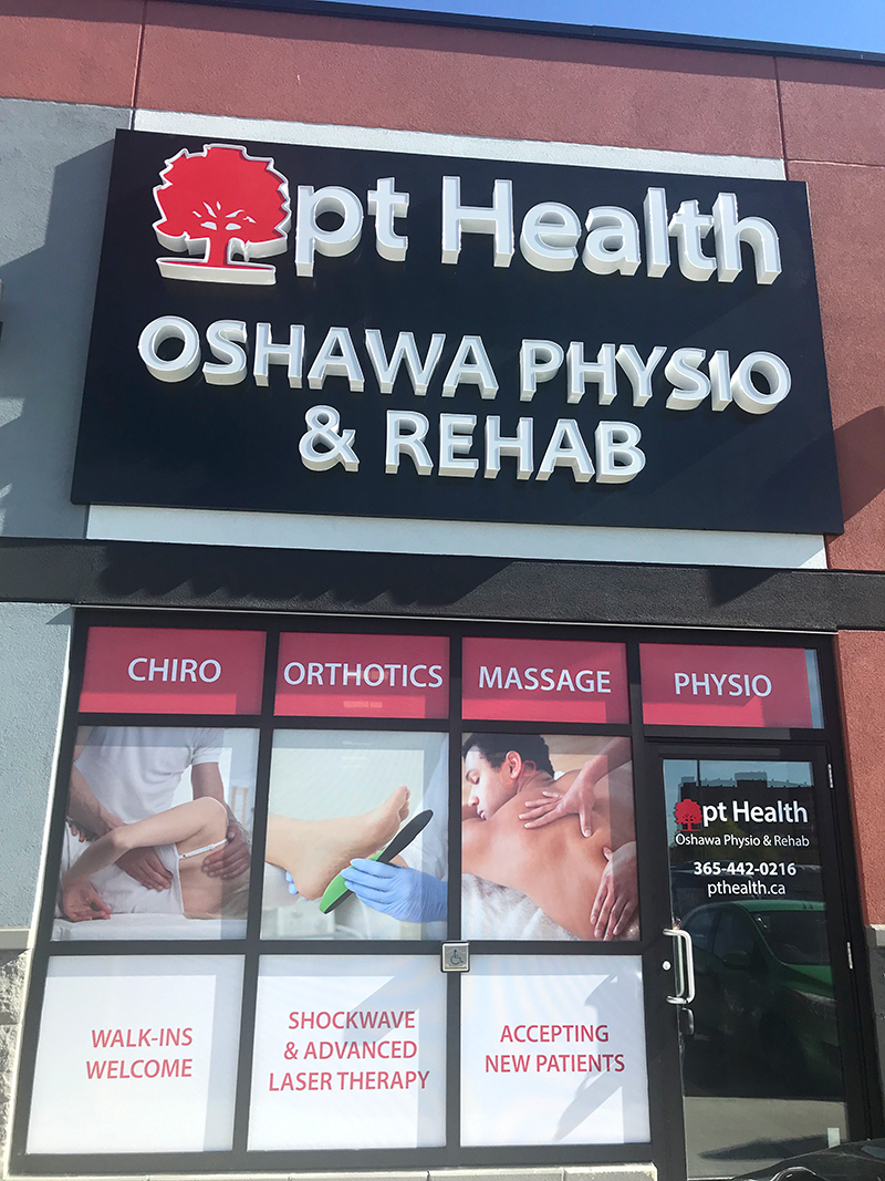 photo of pt health oshawa physio and rehab exterior front