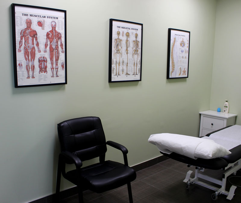 photo of vaughan rehab centre treatment room
