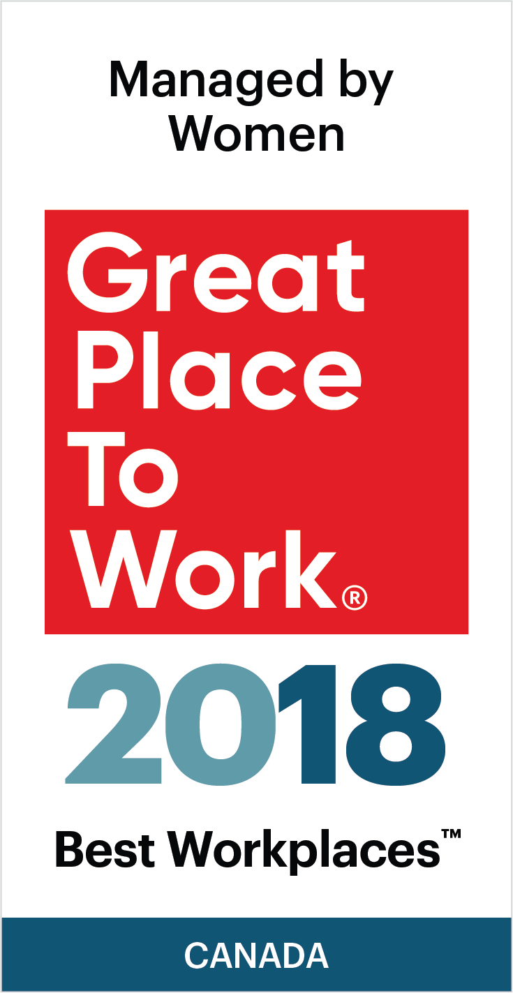 Best Workplaces Managed by Women Badge