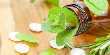 photograph of natural suppliments as part of naturopathic care